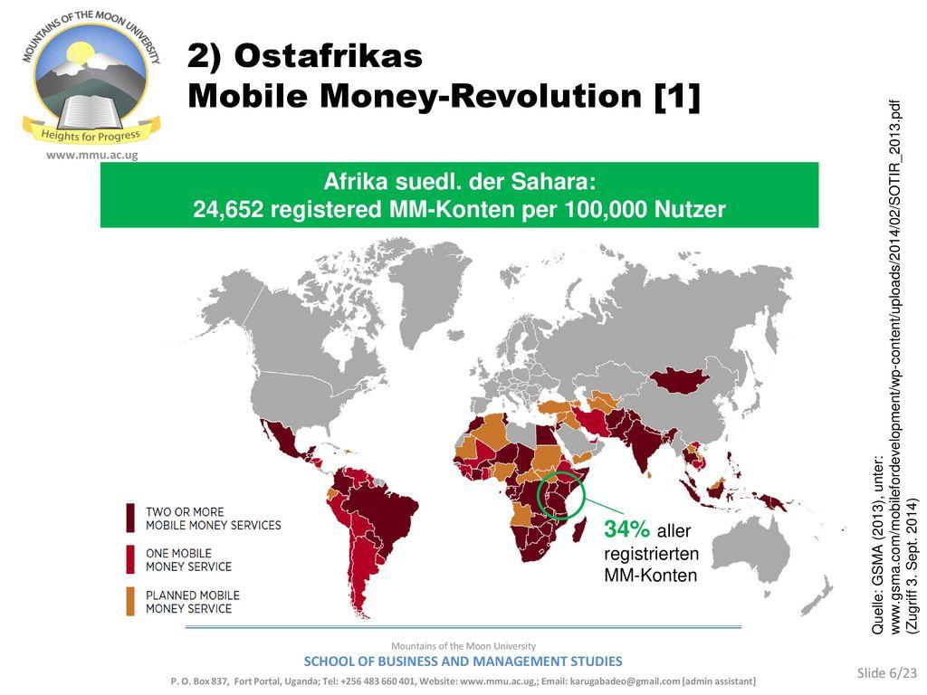 2) Ostafrikas Mobile Money-Revolution [1]